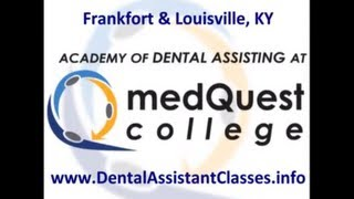 [Expanded Duties Dental Assistant Classes Louisville]