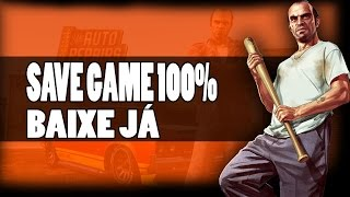 COMO COLOCAR SAVE GAME 100% NO SEU GTA V XBOX 360