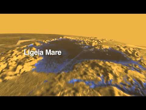Soaring Over Titan: Extraterrestrial Land of Lakes