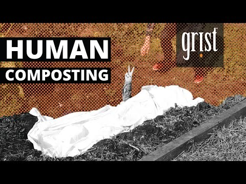 Is human composting the future of death?