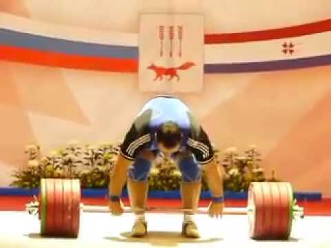 Ruslan Albegov - Clean and Jerk  250 kg   (Olimpic bronze medalist in London 2012)
