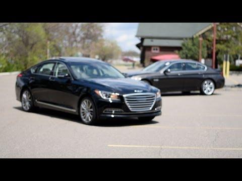 2015 Hyundai Genesis Comparison | Hyundai vs. BMW | Morrie's 394 Hyundai