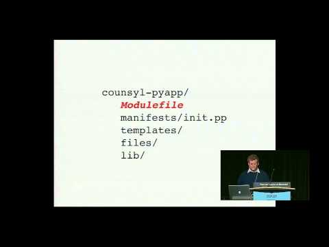 Image from Puppet Modules: Apps for Ops