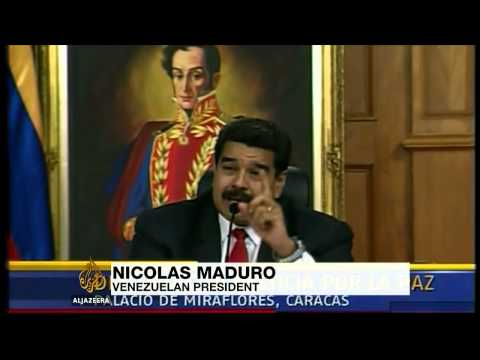 Venezuelan president holds talks with opposition