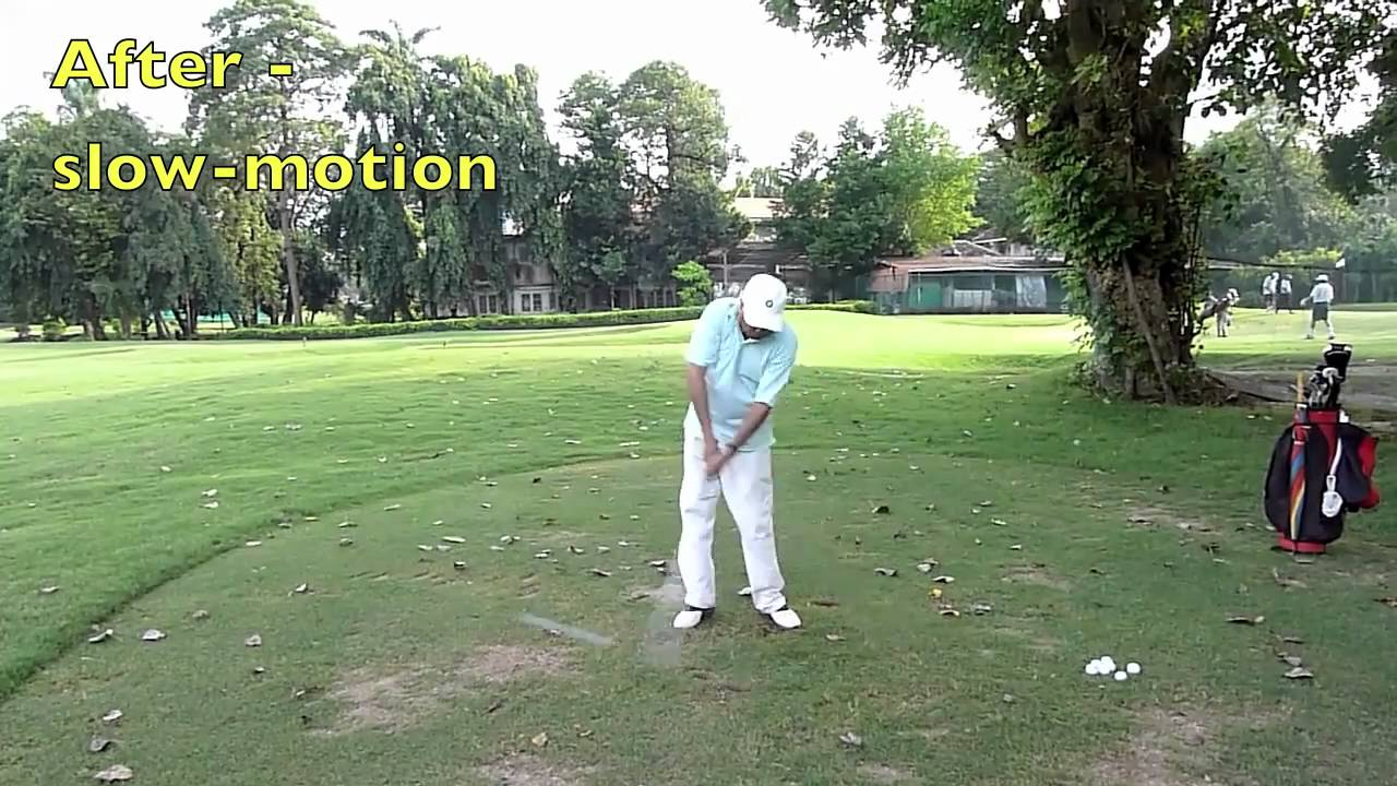 Minimalist golf swing make over the top impossible youtube