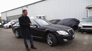 Попал в аварию Mercedes Benz W221 S320 Денис Рем Дестакар