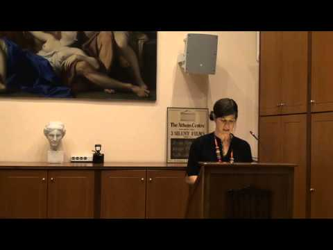 Poetry Evening at the Athens Centre - Alicia Cohen (Part 1)