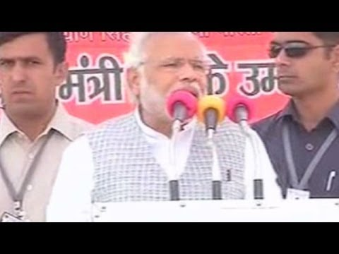 Narendra Modi takes on Mulayam Singh