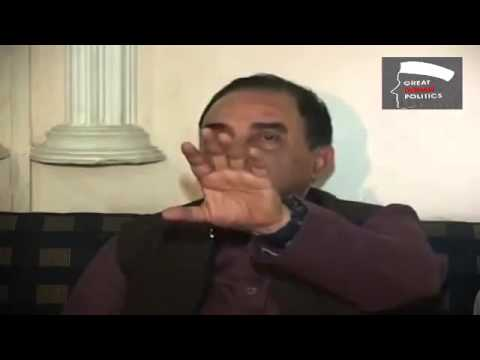Will not give an inch of Kashmir - Dr Subramanian Swamy