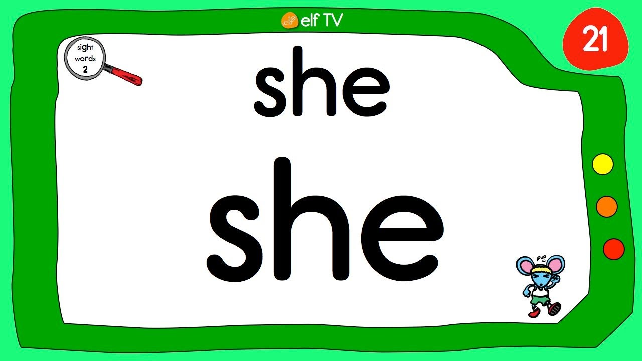 Sight Words | #2 | Fun Chant | Reading | ELF Learning