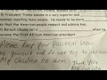 Dad furious when daughter gets anti-Trump assignment