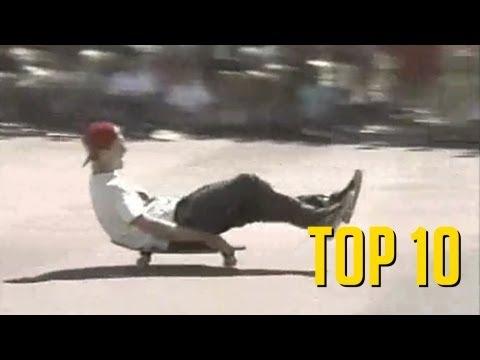 TOP 10 MANOBRAS DE SKATE QUE NÃO GOSTO