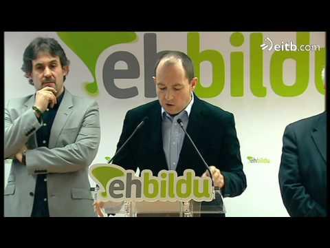 EH Bildu dice que ETA 'ha dado un nuevo paso'