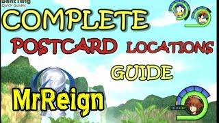 Kingdom Hearts 1.5 HD Final Mix All Postcard Locations