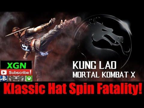 Mortal Kombat X Unlock Kung Lao Klassic Fatality Hat Split from MK2!