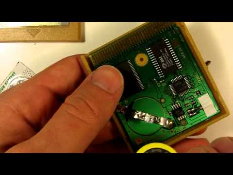 How to Replace Battery in Pokemon Gold for Game Boy Color to Fix Save Feature