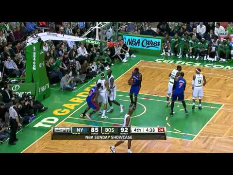 The Jeremy Lin Show Vs. Boston Celtics (3/4/12)