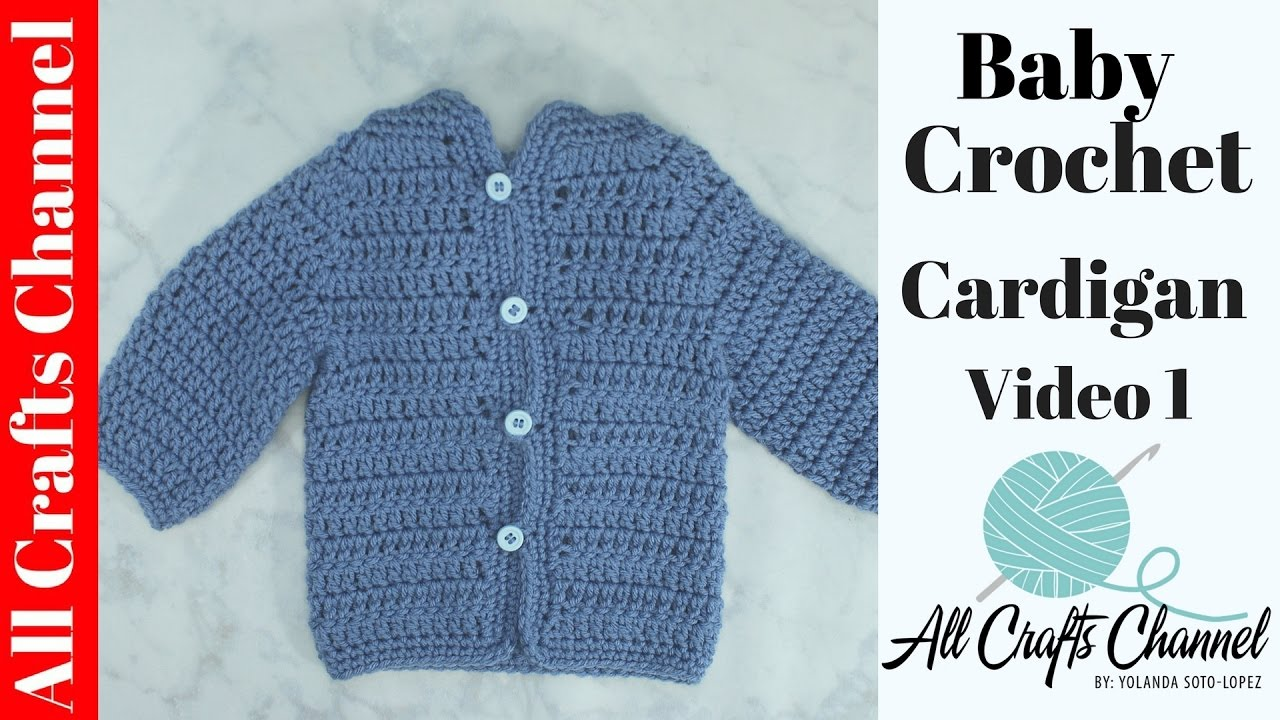 Easy Crochet Baby Sweater Pattern Free : Easy Crochet Baby Cardigan Pattern - Bing images