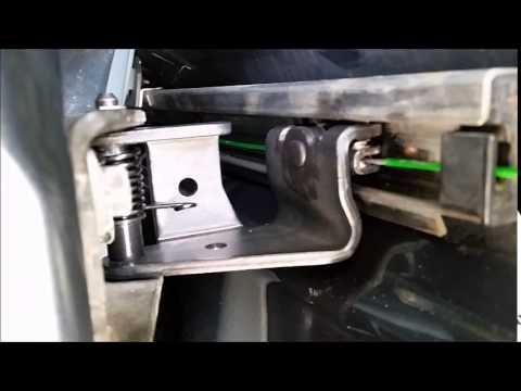 Honda odyssey sliding door handle repair part 1 of 2 for 06 honda odyssey sliding door