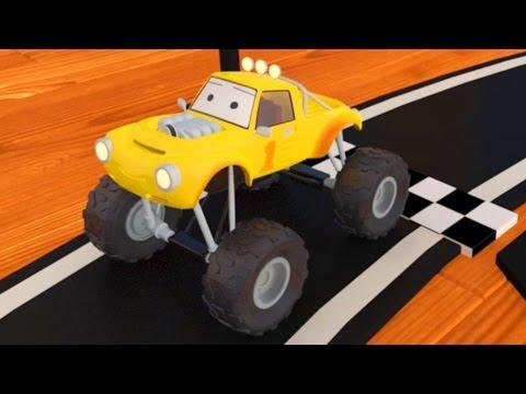 Závodná dráha a monster truck