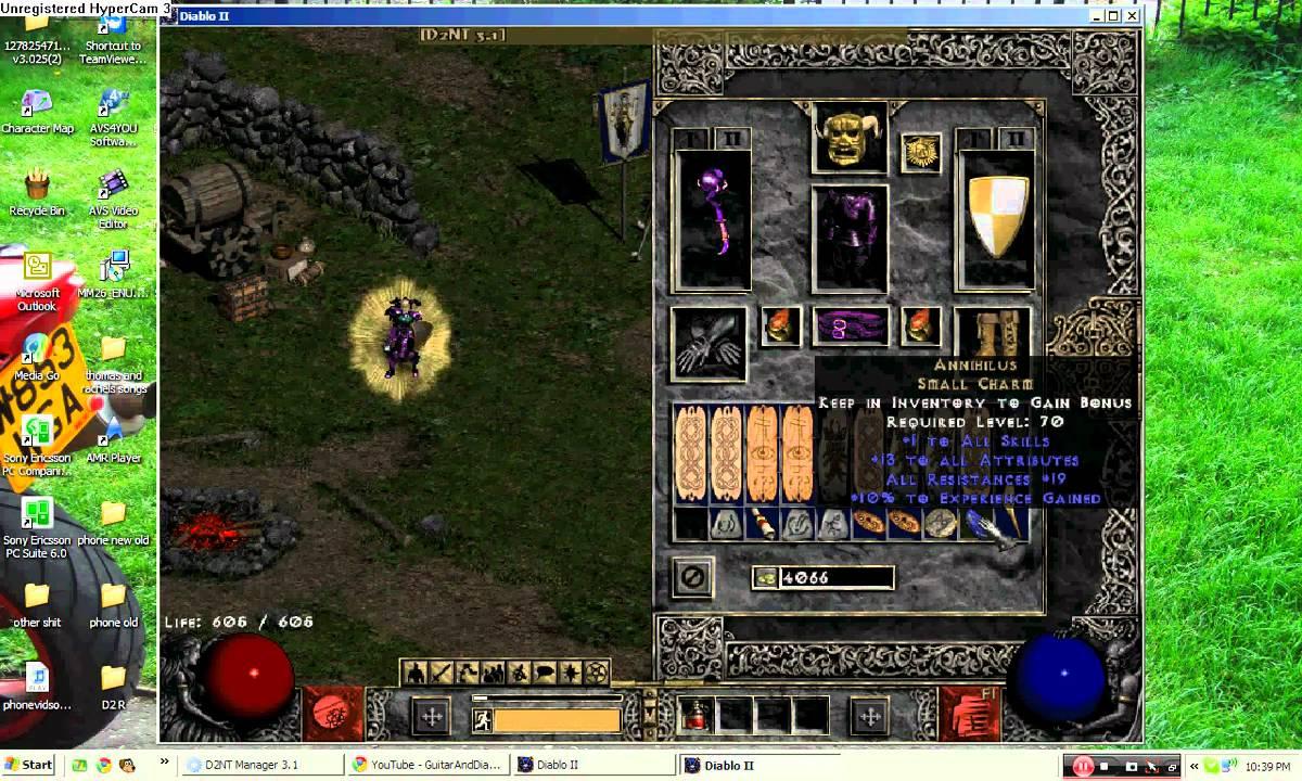 Diablo  Lod Sorc Build