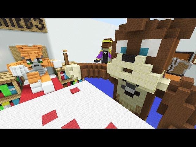 Minecraft Xbox - Stampy's Bedroom - Hunger Games