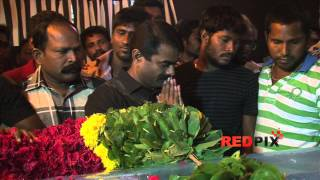 Director Seeman pay homage to legendary Tamil poet and lyricist Vaali