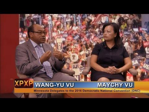 XAV PAUB XAV POM: Wang-Yu & Maychy Vu are MN delegates to the National Democratic Convention.