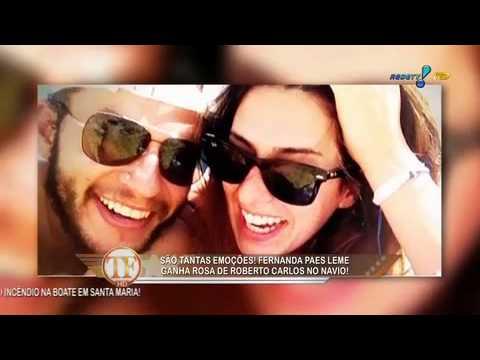 Tv Fama - Sem o namorado, Fernanda Paes Leme aproveita cruzeiro