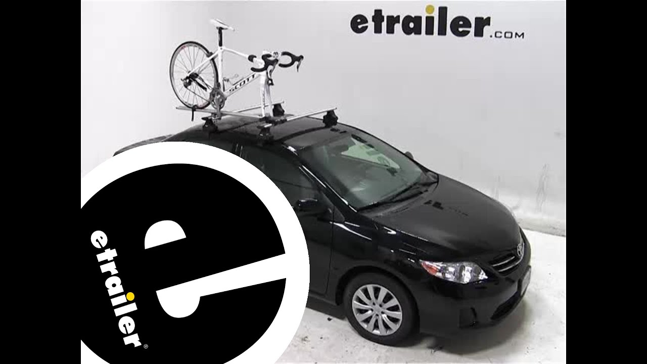 Review Of The Rockymounts Tierod Roof Bike Rack On A 2013