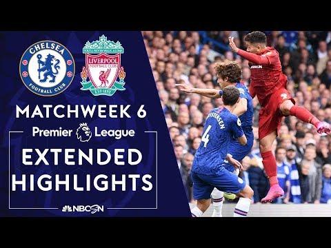 Chelsea v. Liverpool | PREMIER LEAGUE HIGHLIGHTS | 9/22/19 | NBC Sports
