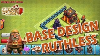 Clash Of Clans TH6 Best Trophy/Hybrid Base (Stronghold