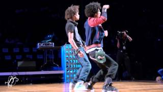 Behind The Scenes With Les Twins At Hip Hop International