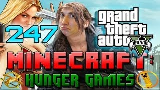 GTA 5 SPECIAL Minecraft: Hunger Games w/Mitch! Game 247 - San Andreas - Grand Theft Auto Theme!