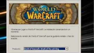 Como Descargar World Of Warcraft 3.3.5a + Servidor Privado