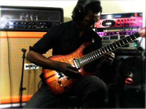 "Tosin Abasi plays  Animals As Leaders ""Tempting Time"""
