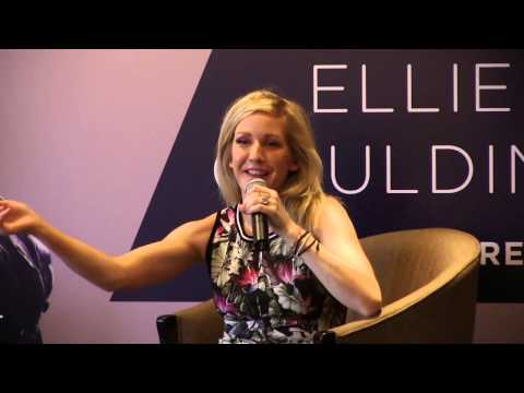 Ellie Goulding Press Conference, June 13, 2014