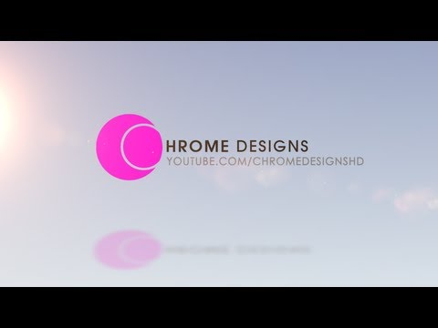 After Effects: Glossy Logo Reveal Tutorial (Beginner) - ChromeDesigns