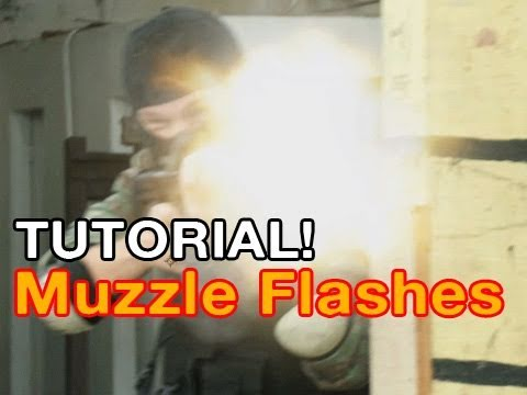 TUTORIAL: Muzzle Flashes (Includes Stock Footage!)