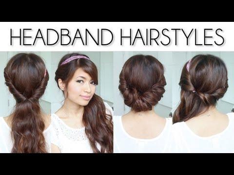 Quick n Easy Back to School Heatless Hairstyles! - hair styles ...