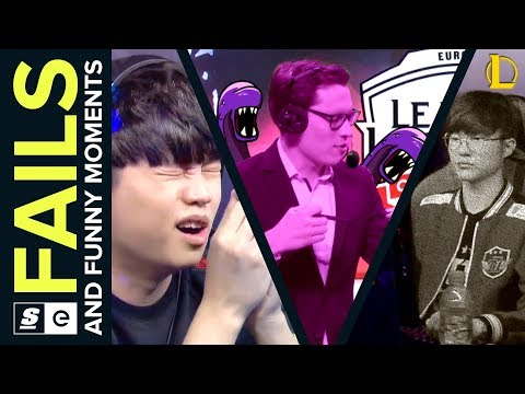 Best Fails and Funny Moments W2 LoL (NA LCS, EU LCS and LCK)