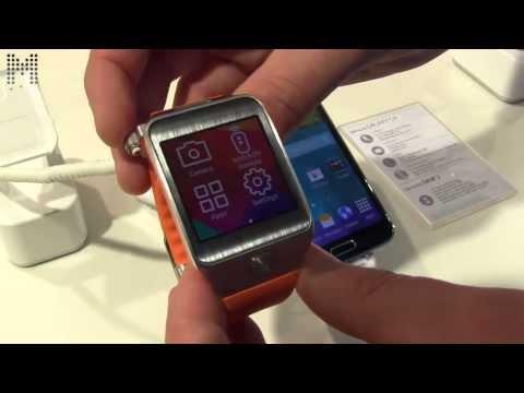 Galaxy S5 y reloj Gear 2 de Samsung