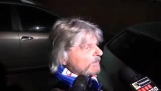 VIDEO Sampdoria: Ferrero fa gli auguri di Natale a Crozza