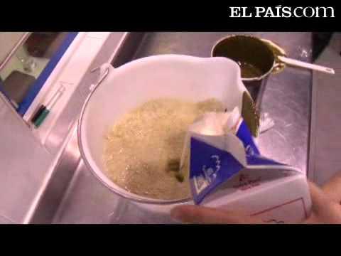 Cómo se hace un helado de pistacho