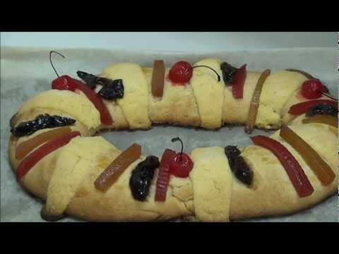 receta de rosca de reyes suave, deliciosa y facil de hacer - receta roscon angycrisjavi