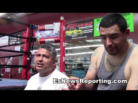 brandon rios on fighting ortiz i am not on victor ortiz level - EsNews