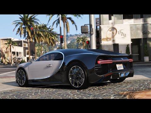 Bugatti Chiron 2017 Siêu Xe Nhanh Nhất Thế Giới 540km/h ? | Siêu Xe Trong GTA V Tập 25