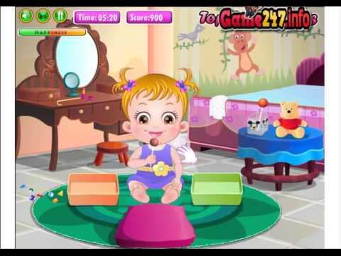 Chơi Game bé Hazel chơi xếp hình (Play game Baby Hazel Learns Shapes)