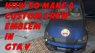 How To Make A Custom Crew Emblem In GTA V Online