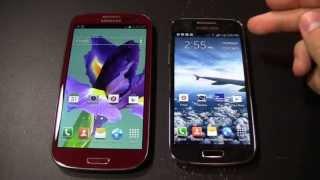 Samsung Galaxy S4 mini vs. Samsung Galaxy S3 karşılaştırma